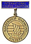 International Champion Chorus Medal